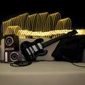 Gitár alakú párna - Gibson SG típusú fekete gitárpárna élethű nagyságban!, Játék, Otthon, lakberendezés, Mindenmás, Hangszer, zene, Rock Párna / Gibson SG típusú fekete gitárpárna élethű nagyságban  Test anyaga: fekete szín..., Meska