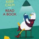 Keep calm and read a book - Print (Digitális), Dekoráció, Férfiaknak, Kép, Legénylakás, Digitális illusztráció, a print A/4-es, 250 g/m2-es papírra van nyomtatva.  --------  - Mindegyik ny..., Meska