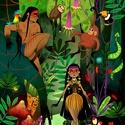 Amazónia - Print (Digitális), Képzőművészet, Dekoráció, Illusztráció, Kép, Digitális illusztráció, a print A/4-es, 250 g/m2-es papírra van nyomtatva.  --------  - Mindegyik ny..., Meska