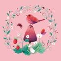 Isten hozott, Tavasz! - Print (Digitális), Baba-mama-gyerek, Dekoráció, Gyerekszoba, Baba falikép, Digitális illusztráció, a print A/4-es, 250 g/m2-es papírra van nyomtatva.  --------  - Mindegyik ny..., Meska
