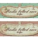 Meska-csomag, Meska bolthoz igényes vintage fejléc, bolt logo ...