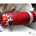 Karácsonyi hengerpárna, FÉLRETÉVE!!!! HA NEM BABCSY VAGY AKKOR KÉRLEK, ...