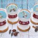 Karácsonyi hógömb, Dekoráció, Karácsonyi, adventi apróságok, Ünnepi dekoráció, Karácsonyi dekoráció, Mézeskalácssütés, Angyalkás, hóemberes, rénszarvasos, jegesmedvés karácsonyi hógömb. Kiváló ajándék szeretteinknek, é..., Meska