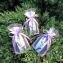 Levendula illatpárnák - 3 db-os csomag, Dekoráció, Dísz, Saját termesztésű bio levendulavirággal töltöttem az illatpárnáimat. Ajánlom lakásdekorációnak, de a..., Meska