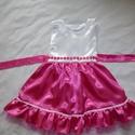 Pink,  alkalmi ruha, Ruha, divat, cipő, Gyerekruha, Gyerek (4-10 év), Alkalmi, elegáns gyermekruha?  Szeretné kislányod néha hercegnőnek érezni magát?  Szívesen táncol az..., Meska