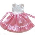 Rózsaszín alkalmi ruha, Ruha, divat, cipő, Gyerekruha, Gyerek (4-10 év), Alkalmi, elegáns gyermekruha?  Szeretné kislányod néha hercegnőnek érezni magát?  Szívesen táncol az..., Meska