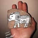 Festett kavics- elefánt