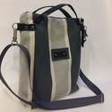 Vászontáska Erős pamutvászon táska. többzsebes táska Unisex táska Laptoptáska. Ajándék férfiaknak