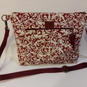 Vászon táska női táska, Táska, Közepes méretű vászon táska, Meska