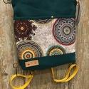 Közepes méretű hátizsák, vállon átvethető táska, vászontáska mandala mintás táska, hátizsák, Táska, Divat & Szépség, Táska, Hátizsák, Válltáska, oldaltáska, Közepes méretű hátizsák, vállon átvethető táska, vászontáska mandala mintás táska, hátizsák. Vidám s..., Meska