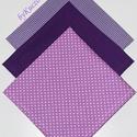 Textil zsebkendő szett, öko zsebkendő szett - lila, Ruha, divat, cipő, Szépségápolás, Egészségmegőrzés, Fürdőszobai kellék, Textil zsebkendő - öko zsebkendő - lila  Finom pamutvászonból készült zsebkendő szett, mely 3 darabb..., Meska