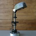 Motor alkatrészből lámpa, Férfiaknak, Otthon, lakberendezés, Lámpa, Asztali lámpa, Mindenmás, Motor alkatrészekből összeállitott lámpa.   Motorkerékpárok alkatrészeiből állitottam össze ezt a m..., Meska