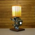 """Autóalkatrészből asztali lámpa, Férfiaknak, Otthon, lakberendezés, Lámpa, Asztali lámpa, Mindenmás, Veterán autó karburátorából készítettem ezt az igazán egyedi asztali lámpát. Különlegessége, hogy """"..., Meska"""