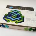 Textil mozaik matrica készlet - OP-ART I., A caraWonga OP-ART egy olyan DIY készlet, mely ö...