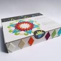 Textil mozaik matrica készlet -MANDALA IV., Játék, Otthon, lakberendezés, Dekoráció, Készségfejlesztő játék, A caraWonga mandalái egy olyan DIY készlet, mely öntapadós, színes textil mozaik darabkákat tartalma..., Meska
