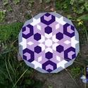 Textil mozaik matrica készlet- MANDALA VI., A caraWonga mandalái egy olyan DIY készlet, mely...