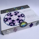 Textil mozaik matrica készlet- MANDALA VI., Dekoráció, Játék, Otthon, lakberendezés, Készségfejlesztő játék, A caraWonga mandalái egy olyan DIY készlet, mely öntapadós, színes textil mozaik darabkákat tartalma..., Meska
