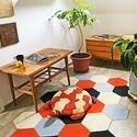 PUZZLE SZŐNYEG - ORANGE BEE, Dekoráció, Otthon, lakberendezés, Lakástextil, Szőnyeg, 187×117 cm  TERVEZD MEG ÉS ÁLLÍTSD ÖSSZE ÁLMAID SZŐNYEGÉT!  Az otthonod rólad szól és az egyéniséged..., Meska