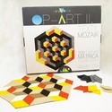 Textil mozaik matrica készlet- OP-ART II., Játék, Dekoráció, Otthon, lakberendezés, Készségfejlesztő játék, A caraWonga mandalái egy olyan DIY készlet, mely öntapadós, színes textil mozaik darabkákat tartalma..., Meska