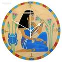 Egyiptomi lány falióra