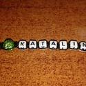Egyedi kulcstartó, Mindenmás, Kulcstartó, Névre szóló,egyedi kulcstartó rendelhető. Ékezet nélküli betűkből tudom készíteni!!!!! A..., Meska