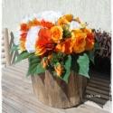 Asztaldísz farönkben - Niki esküvőjére!!! (Ceffa) - Meska.hu