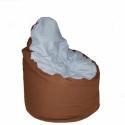 Strapabíró Babzsák fotel gyerekeknek, Bútor, Babzsák, Babzsák fotel /gyerek méret/ 60x80  - erős, strapabíró vászon anyag - levehető, mosható h..., Meska