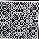 Pergola fehér színben, térelválasztó elem, ablakdísz, falidísz, lámpabúra 40x40 cm, Dekoráció, Otthon, lakberendezés, Dísz, Famegmunkálás, Fából, kézzel és lézervágással készített magyar termék, új.  Pergola, térelválasztó elem, falidísz,..., Meska