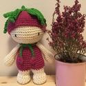 Mini virág baba, Játék, Plüssállat, rongyjáték, Játékfigura, Virág baba, made by Cicumi.   Kérésre más színből is elkészítem.  Magassága kb. 15-17 cm.  , Meska