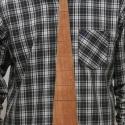 Fa nyakkendő, Férfiaknak, Ruha, divat, cipő, Ing, Férfi ruha, Famegmunkálás, Fából (rétegelt lemez + cseresznye furnér) készült nyakkendő, mindenkinek aki szereti a fát vagy a ..., Meska