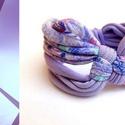 DIAGONAL - textil karkötő, 124, Ékszer, Karkötő, Új karkötőkollekció, amely a DIAGONAL névre hallgat.  Antiallergén, ahogy az a textilékszereimnél má..., Meska