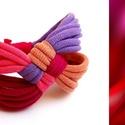 DIAGONAL - textil karkötő, 123, Ékszer, Karkötő, Új karkötőkollekció, amely a DIAGONAL névre hallgat.  Antiallergén, ahogy az a textilékszereimnél má..., Meska