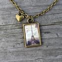 """AKCIÓ - Eiffel torony nyaklánc, Ékszer, Karkötő, Vintage nyaklánc Eiffel torony medállal. Remek ajándék Párizs és Franciaország szerelmeseinek.  """"De ..., Meska"""