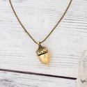 Woodland - nyaklánc természetimádóknak, Ékszer, óra, Nyaklánc, Nyaklánc természetimádóknak, túrázóknak is tökéletes ajándék.  Medál mérete: 1,5 cm Nyaklánc hossza:..., Meska