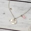 Love and beloved - rózsakvarc nyaklánc, A rózsakvarc a feltétel nélküli szeretet és a...