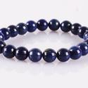 Simplicity - lapis lazuli karkötő, Ékszer, Férfiaknak, Karkötő, Ékszer, kiegészítő, Egyszerű lapis lazuli karkötő 8 mm-es lapis lazuli gyöngyökkel  Lapis lazuli hatása:  A lapis lazuli..., Meska
