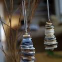 XMAS TREE - karácsonyfadísz, Dekoráció, Karácsonyi, adventi apróságok, Ünnepi dekoráció, Karácsonyfadísz, Alkotási folyamatokban is fontosnak tartom a minimális hulladék képződést és az újrahasznostíást. Gy..., Meska