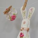 HARUNO gyapjúnemez maroknyúl, Játék, Játékfigura, Gyapjúfilcből ( 60 % gyapjú + 40 % viszkóz ) egyedi kézzel varrt rémült nyuszi, aki szerető, ölelő b..., Meska