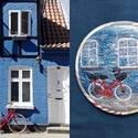 Irány Dánia! -  nemezelt hangulatbonbon, Táska, Pénztárca, tok, tárca, A legújabb hangulatbonbonok utazások során készített fotóim átlényegítésével készülnek. A fotózás, e..., Meska