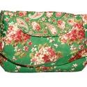 """"""" HORTENSIA"""" TÁSKA, Táska, Varrás, Nagyon szép színes ,japán pamutvászonból készült ez a táska. A vállpánt nem állítható,mérete:76 cm...., Meska"""