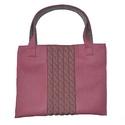 """Filc-kötött táska rózsaszín """"Carol"""""""