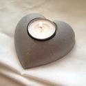 Valentin napi beton-szív (ColoredConcrete) - Meska.hu