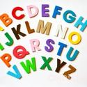 Betűk, ABC, iskola - Játék és tanulás - 26 dekorgumi forma, Gyerek & játék, Baba-mama kellék, Játék, Készségfejlesztő játék, Az ABC összes ékezet nélküli betűje.  Egyszerű de nagyszerű kis játék, ami segít a betűk megismerésé..., Meska