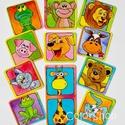 Állatos hűtőmágnes készlet 11 db-os, Baba-mama-gyerek, Konyhafelszerelés, Hűtőmágnes, Gyerekszoba, Fotó, grafika, rajz, illusztráció, Mindenmás, Csempéssz egy kis színt és vidámságot a konyhába meg a gyermeked életébe! ;)  11 állat, kész állatk..., Meska