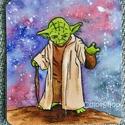 Yoda (nagy)- laminált hűtőmágnes, Konyhafelszerelés, Baba-mama-gyerek, Férfiaknak, Hűtőmágnes, Fotó, grafika, rajz, illusztráció, Mindenmás, Star Wars rajongóknak...  Erre a darabra Yoda a bölcs jedi került. Ő az egyik legikonikusabb figurá..., Meska