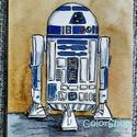 R2D2 a robot - laminált hűtőmágnes, Konyhafelszerelés, Baba-mama-gyerek, Férfiaknak, Hűtőmágnes, Fotó, grafika, rajz, illusztráció, Mindenmás, Star Wars rajongóknak...  R2D2 került erre a hűtőmágnesre. Nagyszerű ajándék a híres robot kedvelői..., Meska