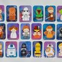 StarWars (GALAXIS) hűtőmágnes készlet 18 db-os!, Otthon & lakás, Gyerek & játék, Férfiaknak, Konyhafelszerelés, Hűtőmágnes, 18 darabos StarWars hűtőmágnes készlet  Sokak kedvence különleges, vicces figurákkal hűtőmágnes kész..., Meska