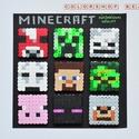 MINECRAFT hűtőmágnes készlet (9 db), Férfiaknak, Gyerek & játék, Otthon & lakás, Gyerekszoba, Nálatok is nagy kedvenc a Minecraft? Sok családban van ez így, hisz napjaink egyik legnépszerűbb ját..., Meska