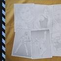 George Michael Colour Cult 8xA/3, Dekoráció, Otthon, lakberendezés, Kép, Falikép, Festészet, 8 db A/3 méretű kifestő, mely George Michael különböző ikonikus korszakait eleveníti fel. A csomag ..., Meska