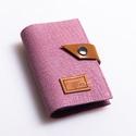 Lilac shine - bankkártya tartó, Táska, Pénztárca, tok, tárca, Pénztárca, Erszény, Bőrművesség, Varrás, Design:   Stílusos és csajos bankkártya tartót készítettem puha tapintású, rusztikus felületű kecsk..., Meska